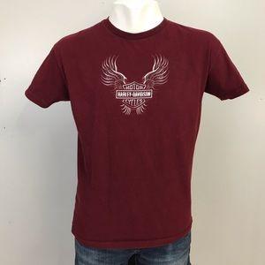 Harley Davidson 2003 T Shirt St Maarten USA Made